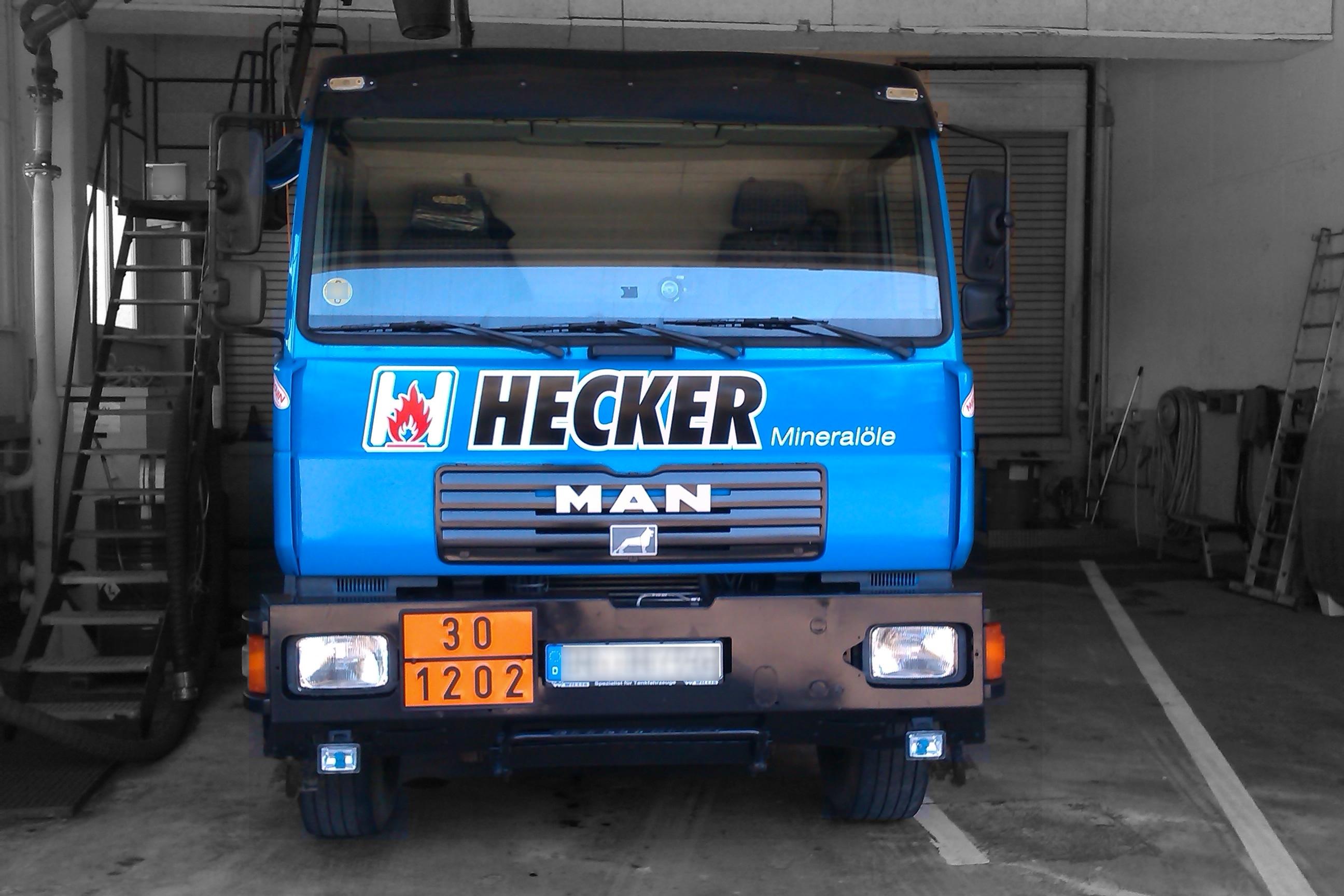 Diesel Kraftstoff Tankwagen Eppingen