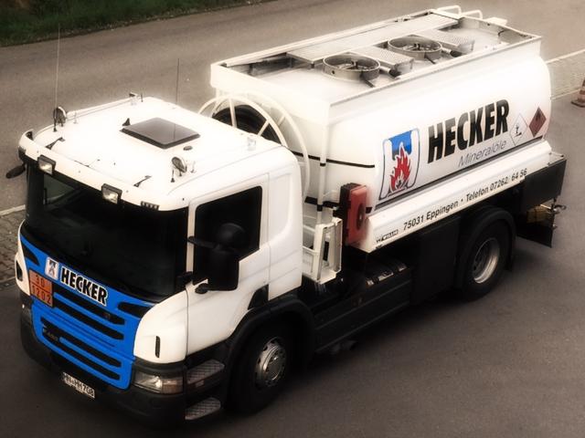 heizoel tankwagen von hecker mineraloele